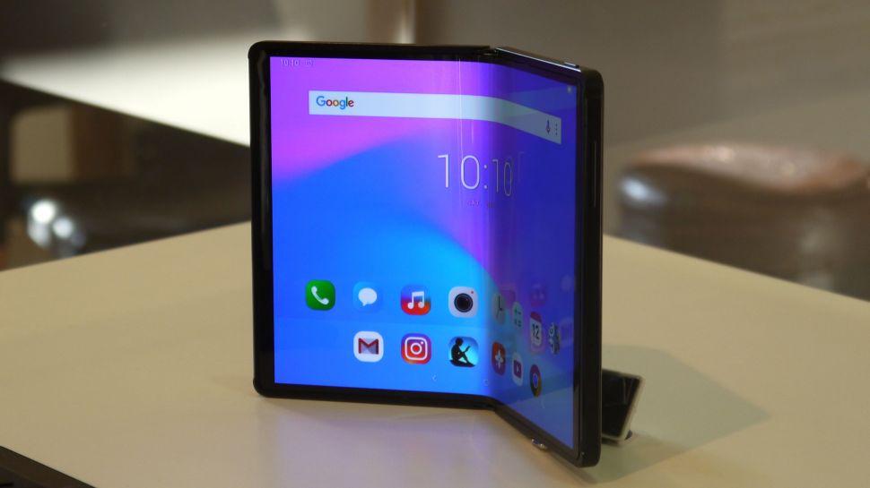 Huawei МateX foldable