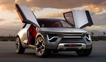 Kia spicy electric car concept at NY Auto Show 2019