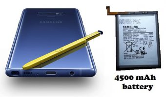 Samsung Galaxy Note10 Pro with 4500 mAh battery