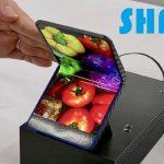 Sharp uses folding smartphone prototype