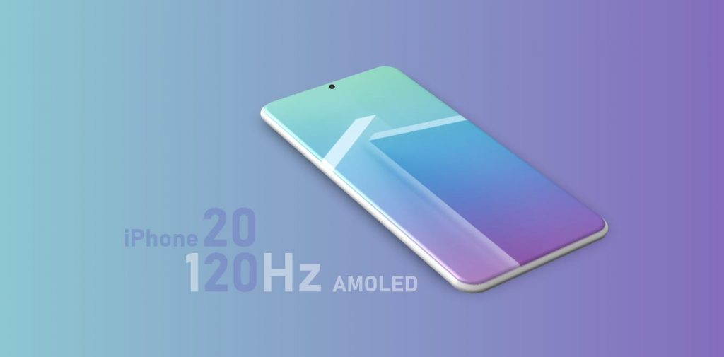 iPhone 2020 with 120Hz Display