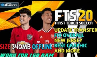 FTS 20 Mod APK Europa League Transfers Download