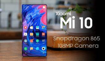 Xiaomi Mi 10 Pro Snapdragon 865 with 108MP Camera