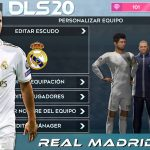 DLS 20 Mod APK Real Madrid Team 2020 Download