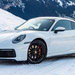 Winter Tires on Your Sport Car Porsche 992 911 Carrera 2S