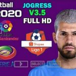 PES 2020 iSO Android Offline PPSSPP JOGRESS V3.5 Download