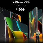 2020 iPhone X Fold