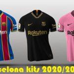 Barcelona New jerseys for 2020-2021