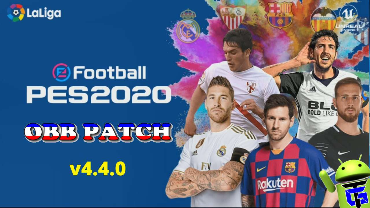 PES 2020 v4.4.0 Android Patch LaLiga Download