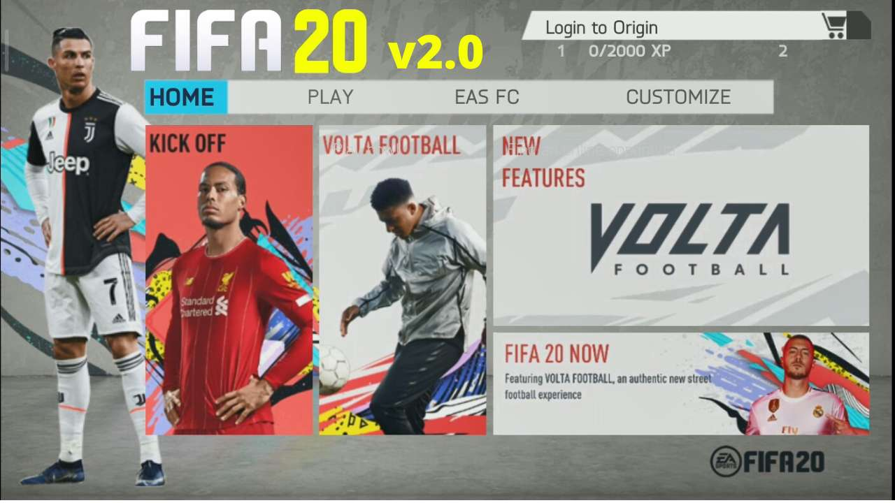 Download FIFA 20 Mod APK Obb Offline for Android