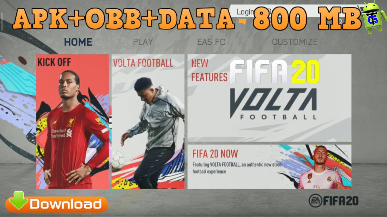 FIFA 20 Android Mod APK English Version Kits 2021 Download