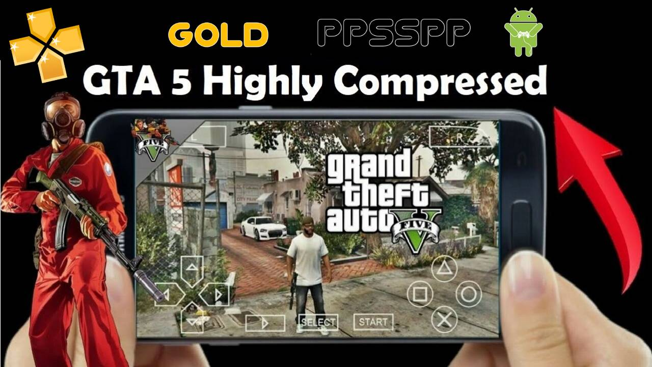 GTA 5 PPSSPP ISO File For Android Download