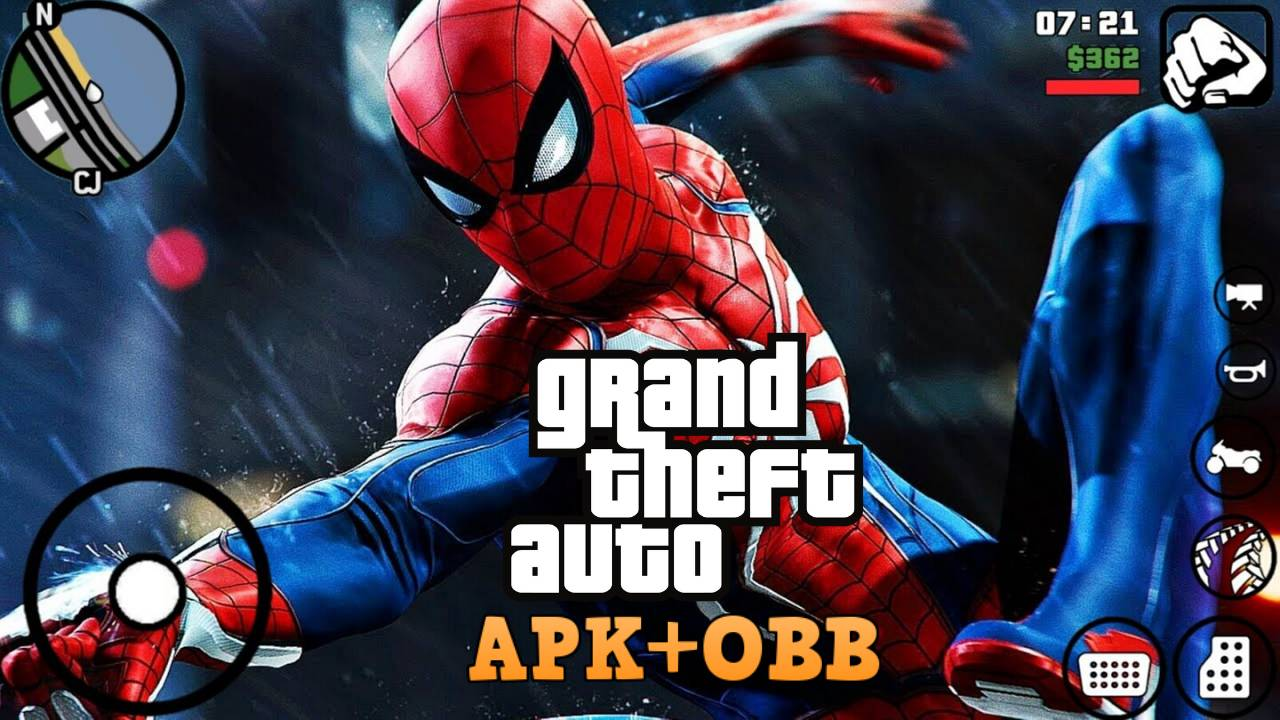 GTA Mod SpiderMan Android Download