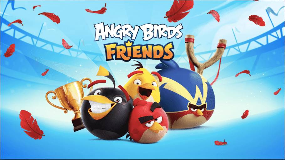 Angry Birds Friends Mod Apk Unlocked Download