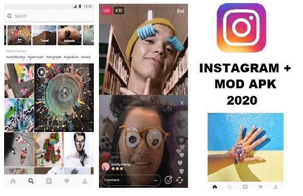Unlocked Instagram Plus Mod APK 2020 Download