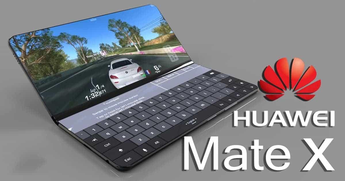 Huawei Mate X Plus Kirin 990 chipset