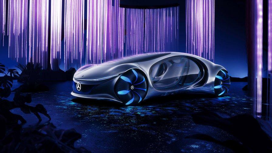 Mercedes benz vehicles concept cars vision avtr