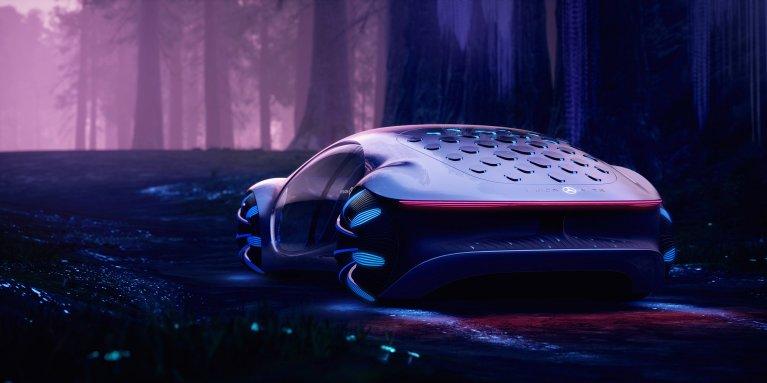 Mercedes benz vehicles concept cars vision