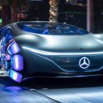Feature Mercedes battery electric car drives