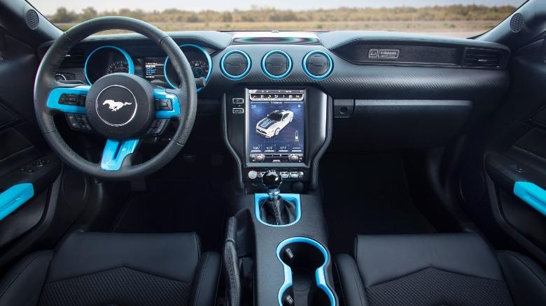 The Ford Mustang reveals electric car with stunning acceleration