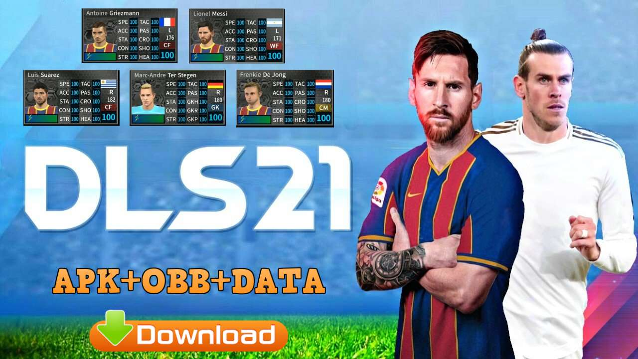 Dream League Soccer 2021 Mod Android Data Download