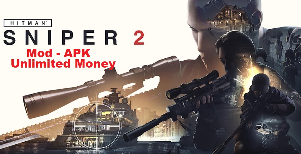 Hitman Sniper Mod Apk OBB Data Unlimited Money Download