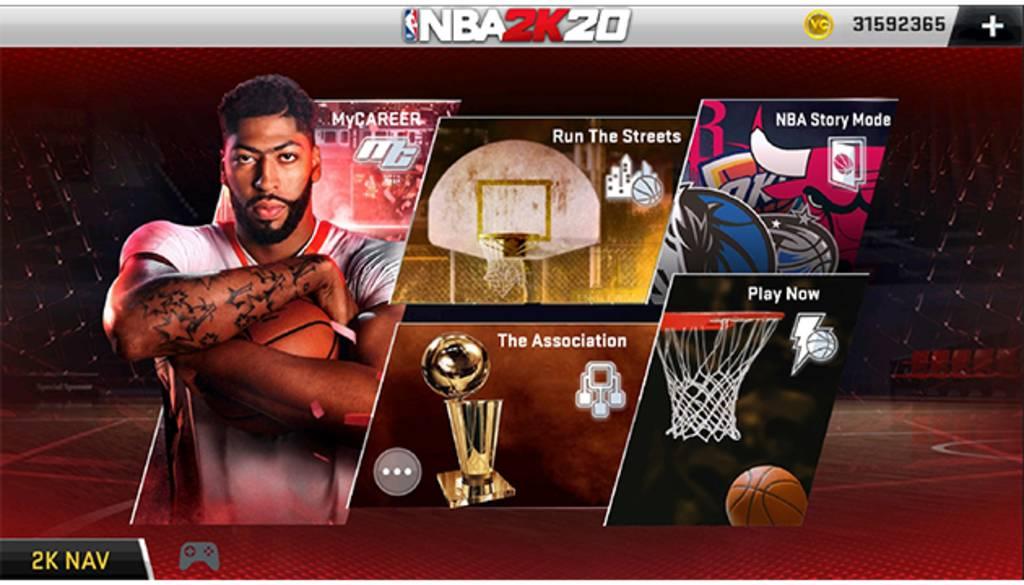 NBA 2k20 apk mod unlimited money