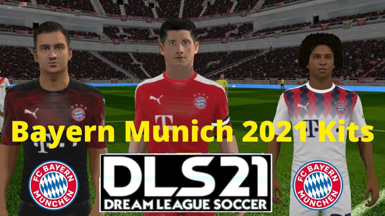 FC Bayern Munich 2021 Kits DLS 20 - Dream League Socce