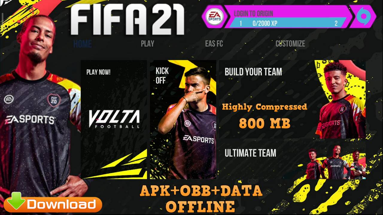 FIFA 2021 Kits Mod Apk Offline Download