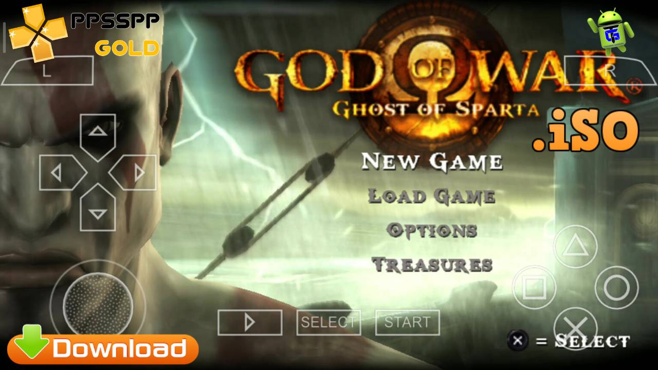 God of War PPSSPP iSO for Android Download