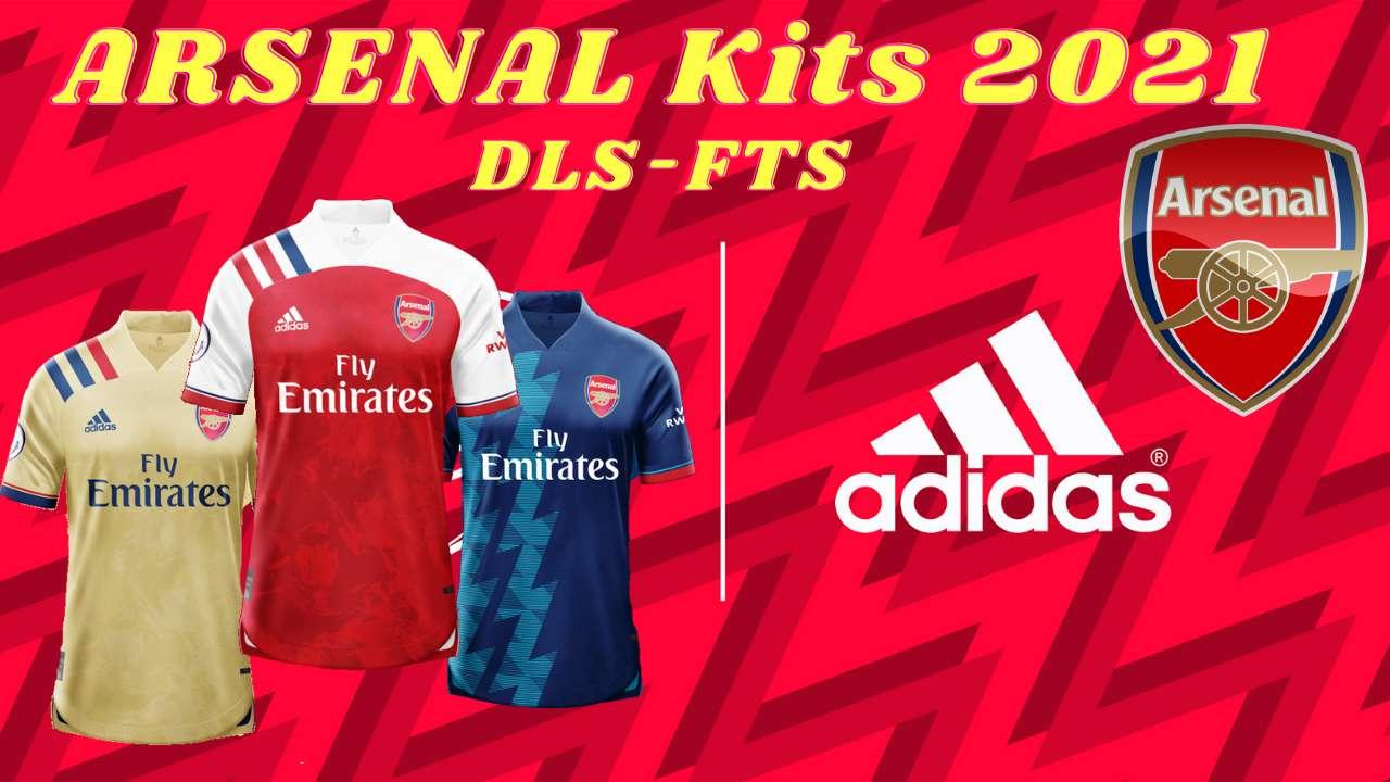 Arsenal New Kits 2021 DLS 20 Logo FTS