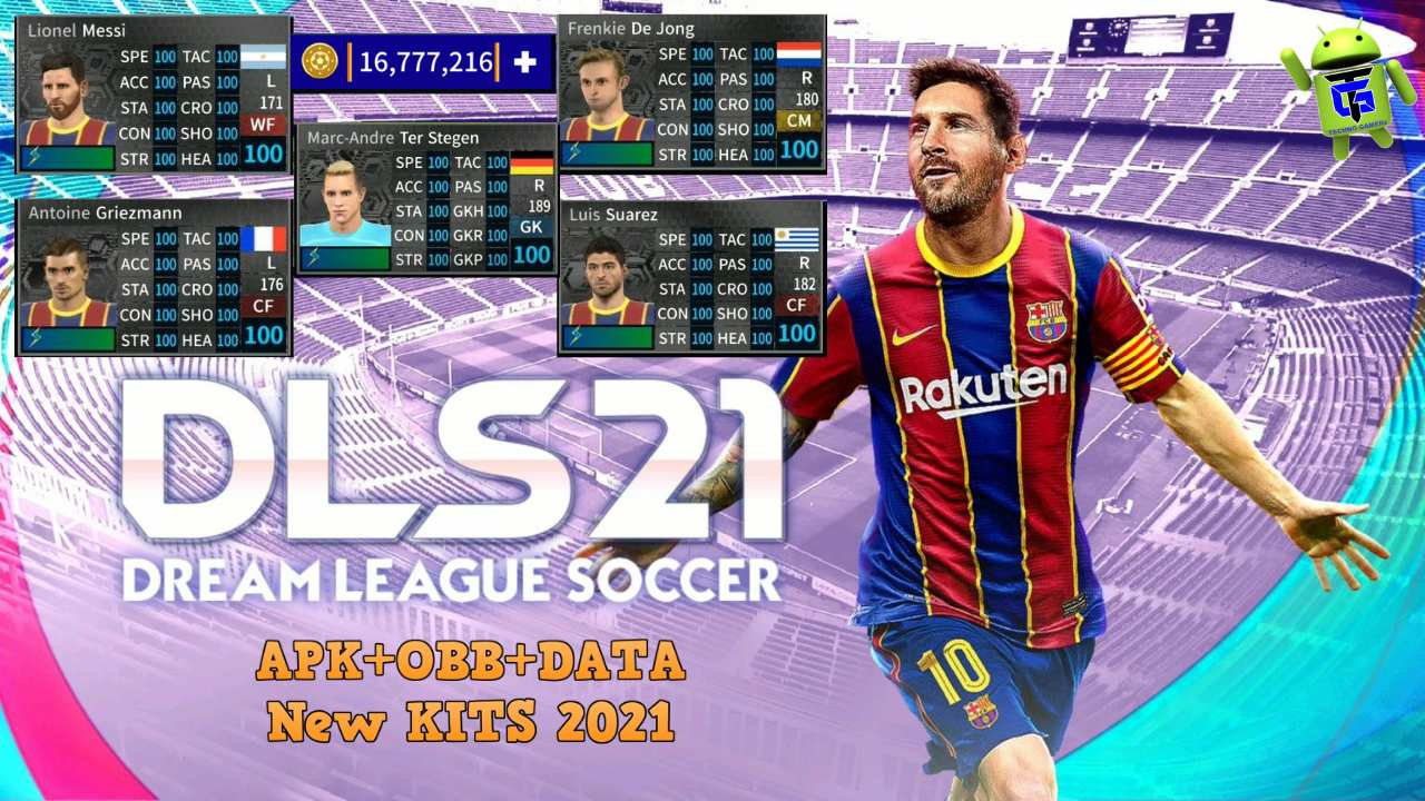 Dream League Soccer 2021 APK Mod Barcelona Team Download