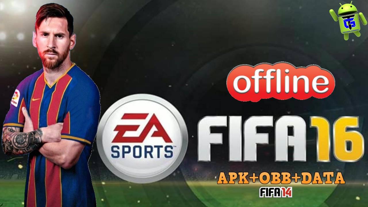 FIFA 16 Offline Mod APK OBB Data Update Download