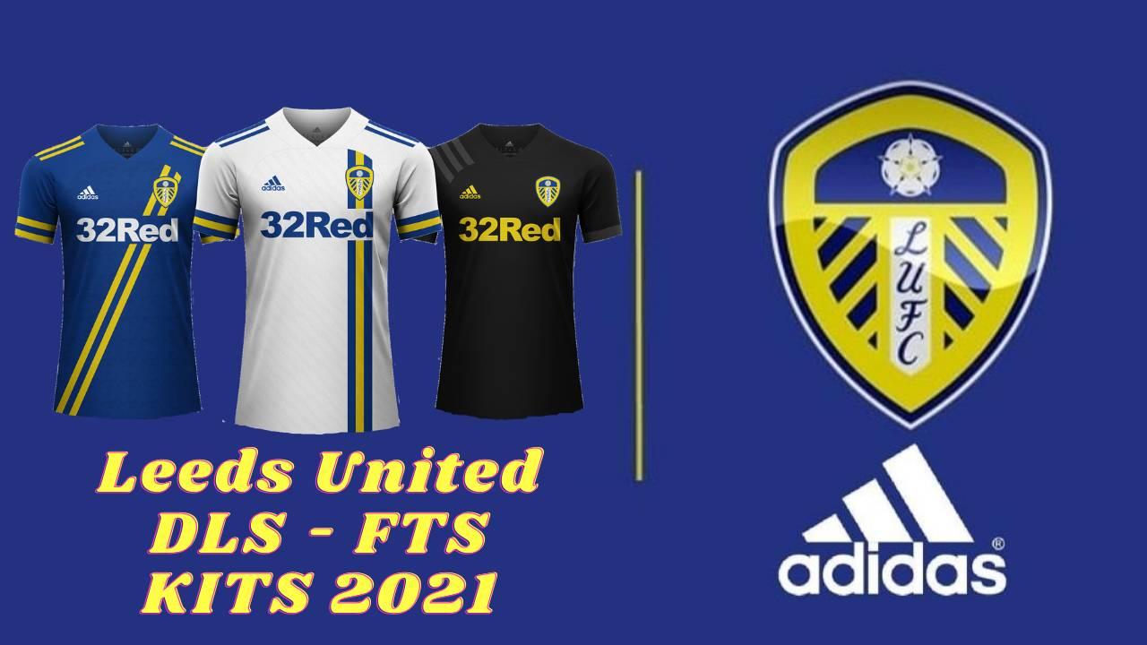 Leeds Soccer New Kits 2021 DLS FTS