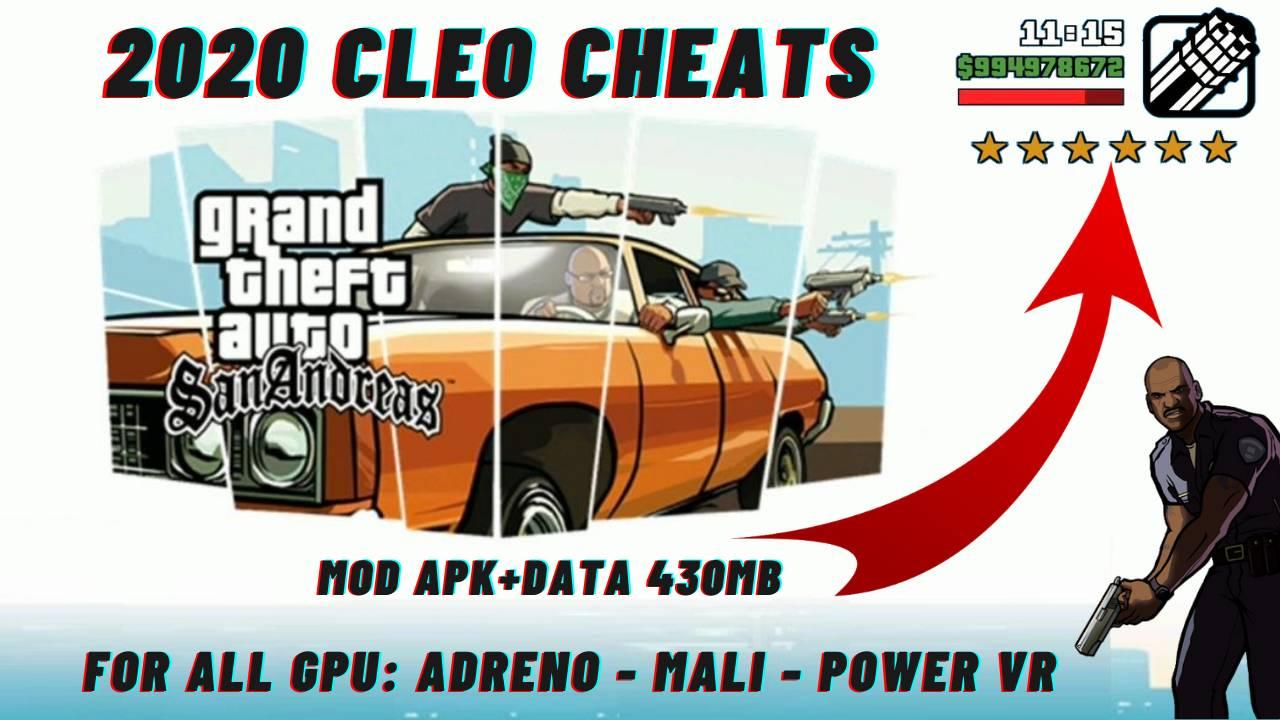 Gta SA Lite Compressed CLEO Cheats APK Download