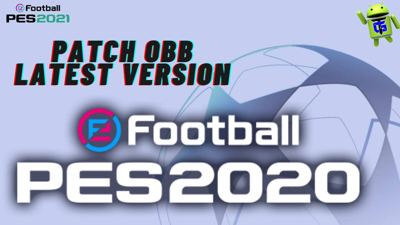 PES 2020 Mobile APK Patch OBB Download