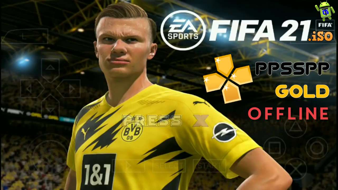 FIFA 21 PPSPP Android Offline HD Graphics Download