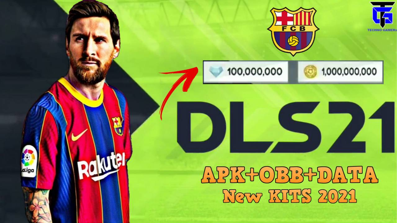 DLS 21 Apk Mod Data Barcelona 2021 Download for Android
