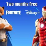 Fortnite purchases players get two months of Disney Plus for free