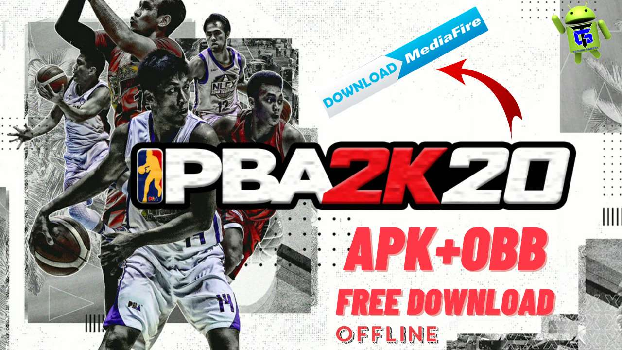 PBA 2K20 Apk Obb for android unlimited money Download