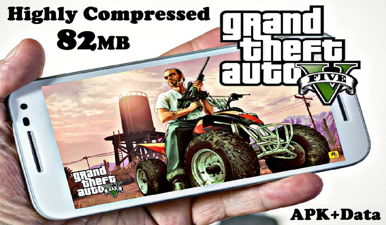 GTA 5 Android Apk Highly Compressed Download