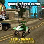 GTA SA Brazil APK Data game android Download