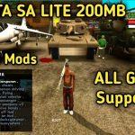 GTA SA Lite Apk Cleo Mod Download