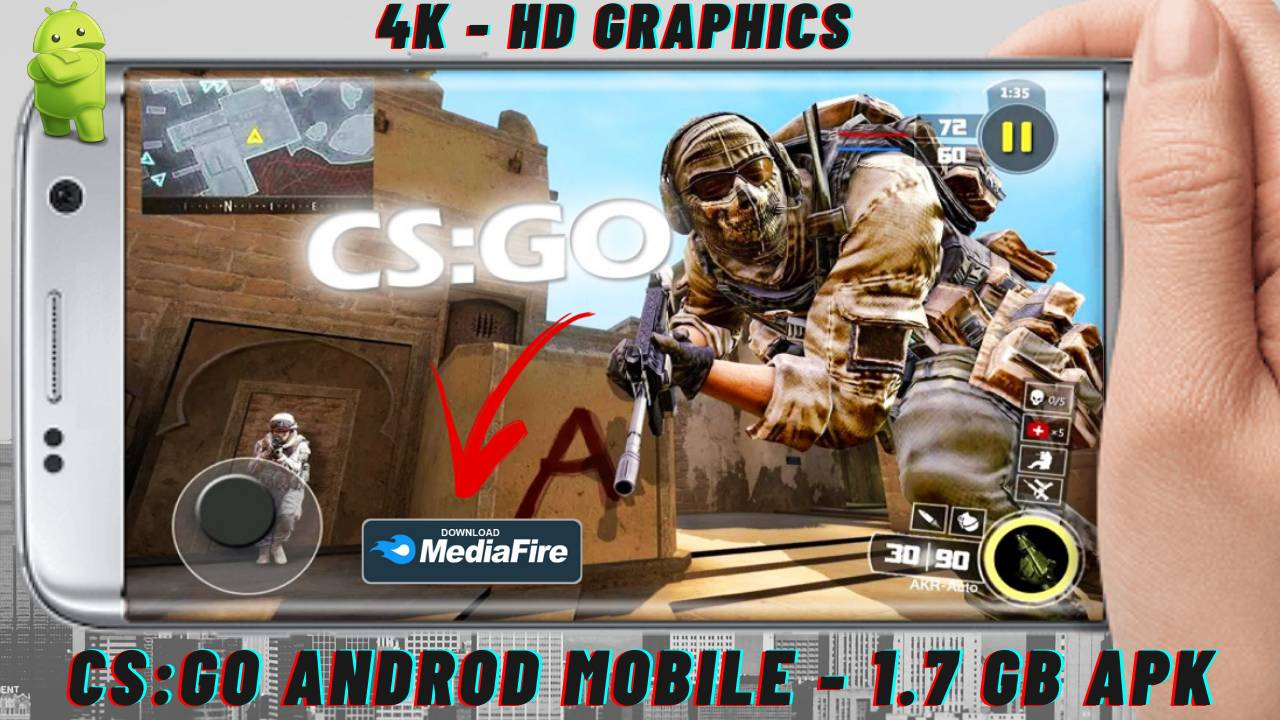CS GO APK Mod Androd Mobile Download
