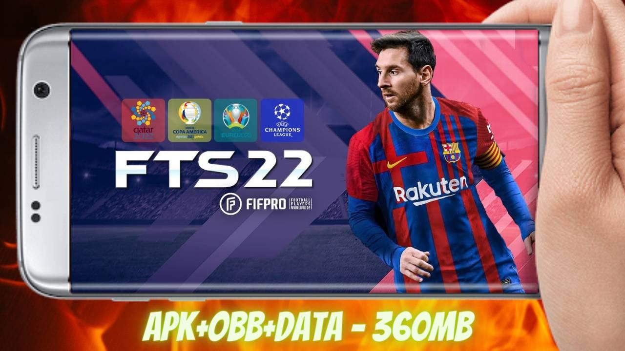 FTS 2022 Mod APK Obb Data Unlimited Money Download