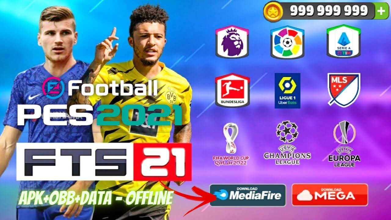 FTS 21 APK PES 2021 Offline Patch Android Download