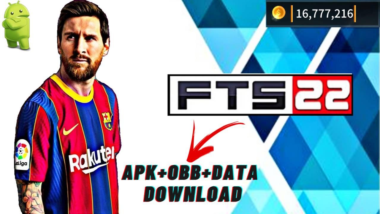 FTS 22 Mod APK+OBB+Data Coins Download