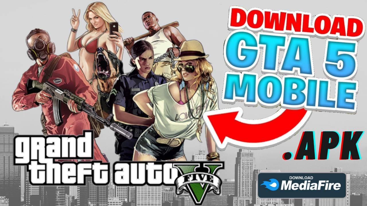GTA 5 APK Mod 280 MB Download