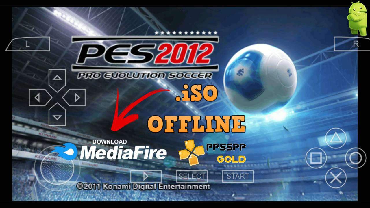PES 2012 iSO PPSSPP for Android Download