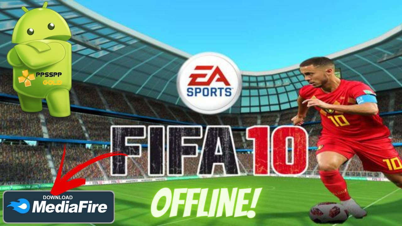 FIFA 10 PSP Android Offline PPSSPP Download